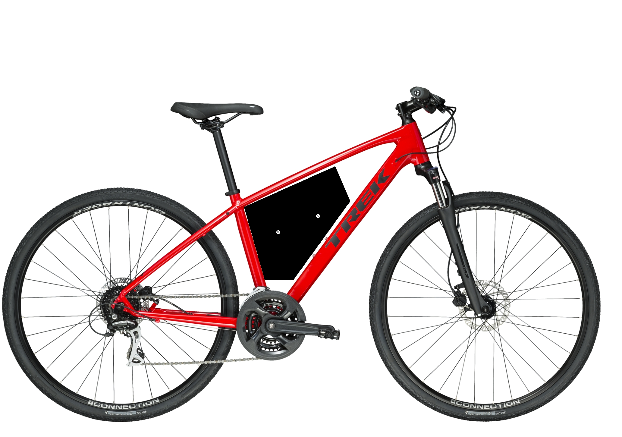 Trek DS2 Red Hybrid