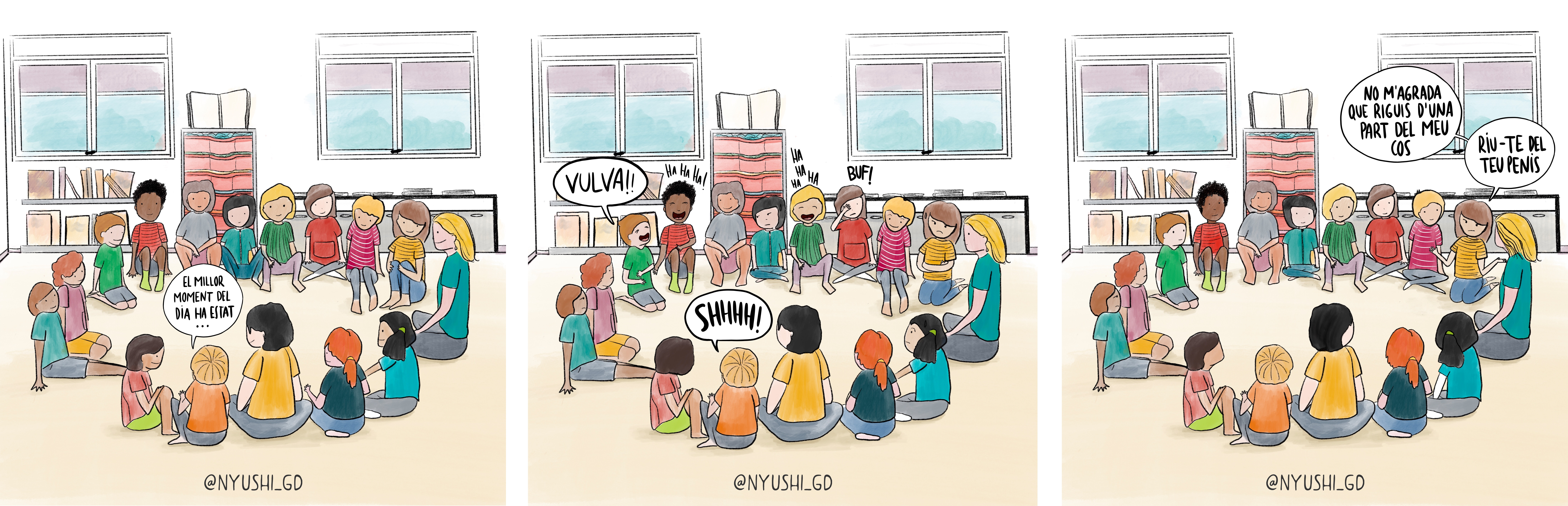 històries d'escola