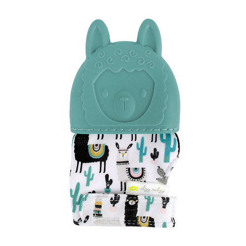 Llama Itzy Mitzies - teething mitt for babies, teething glove