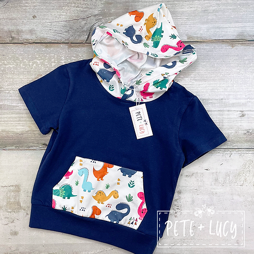 Dino Days Collection, Boys Hooded T-Shirt