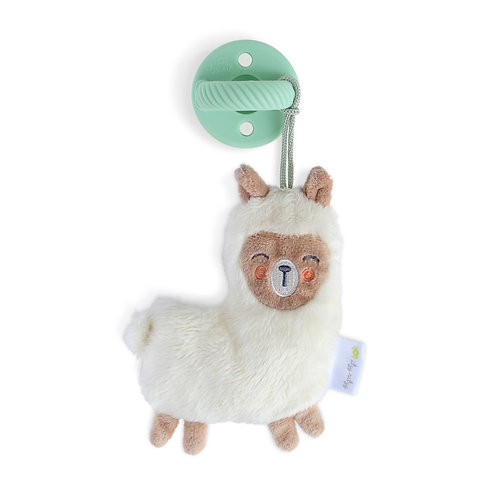 Llama Sweetie Pal Pacifier with Animal Friend, by Itzy Ritzy