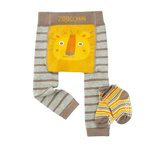 Leo the Lion Legging and Sock Set by Zoocchini