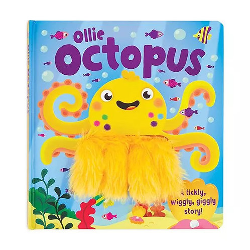 Ollie Octopus Wiggly Fingers Board Book