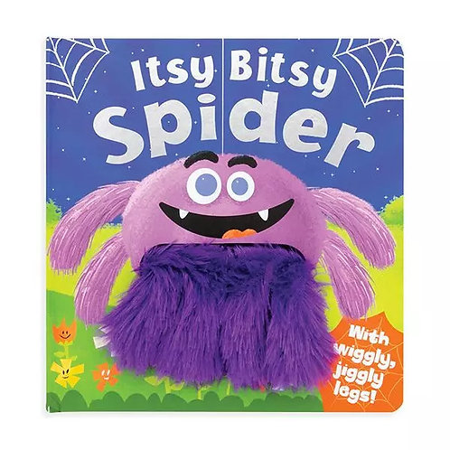 Itsy Bitsy Spider Wiggly Fingers Board Book