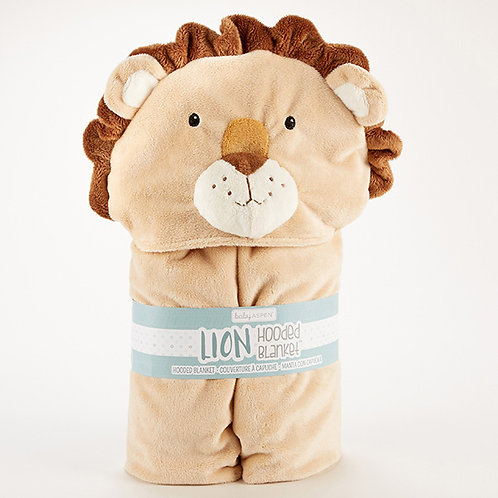 Lion Hooded Blanket by Baby Aspen