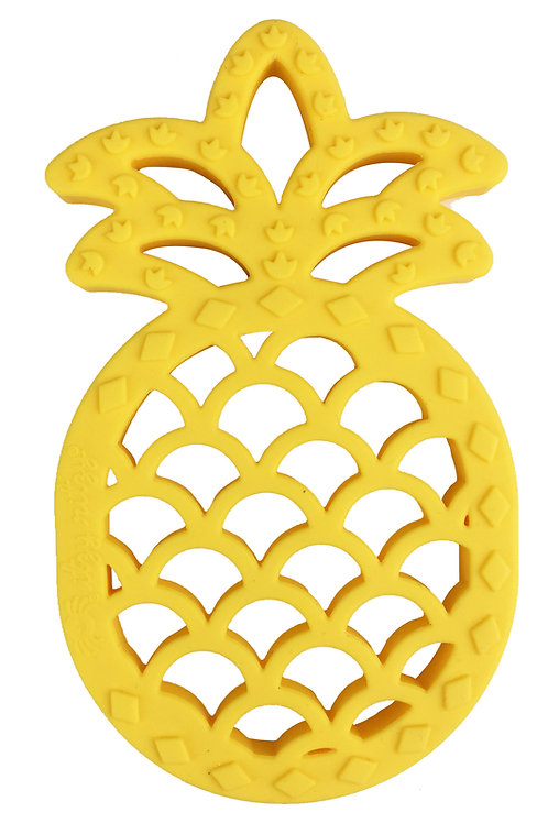 Silicone Pineapple Baby Teether - Chew Crew