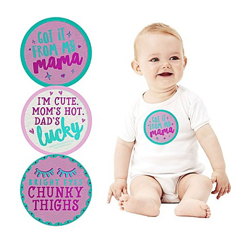 Baby Girl Belly Stickers