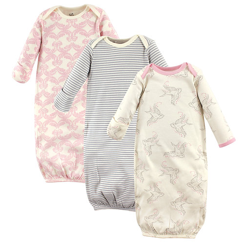 Baby Organic Cotton Bird Gowns by Touched by Nature