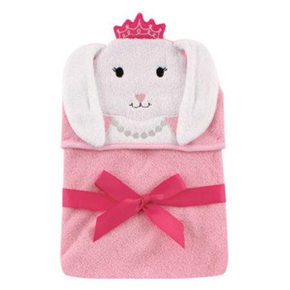 Hudson Baby Princess Bunny Animal Hooded Towel