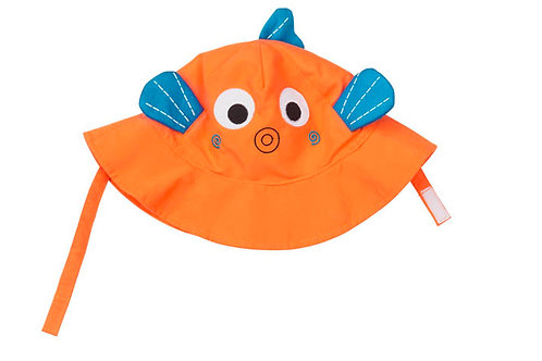 Fish sun hat for baby