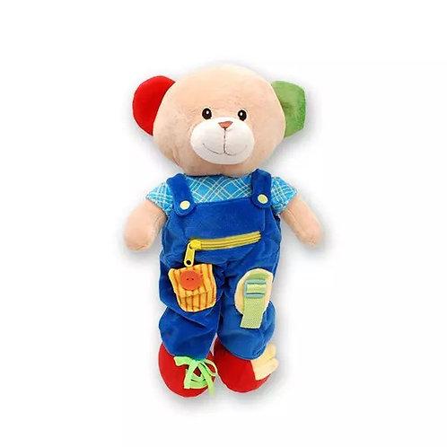 Educational Plush Teddy Bear by Linzy Toys