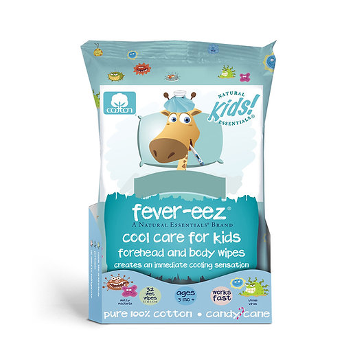 Fever-Eez Cool Care Wipes
