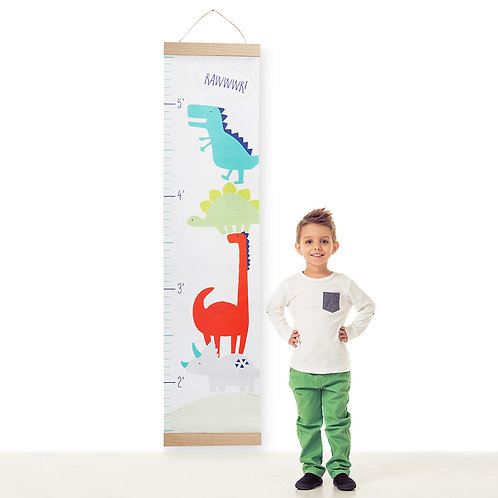 Dino Baby growth chart by Baby Aspen