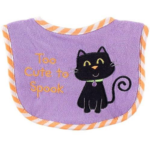 Halloween Bib - Too Cute to Spook