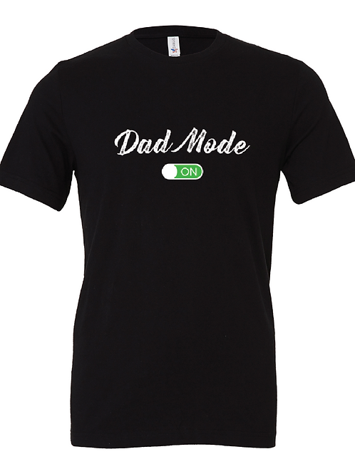 Dad Mode On tshirt, dad tshirts, dad mode shirt by bottles 'n binkies