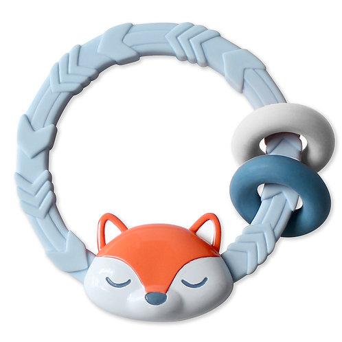 Itzy Ritzy Ritzy Rattle Blue Fox