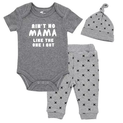 Ain't No Mama Like the One I Got - 3 piece set for baby