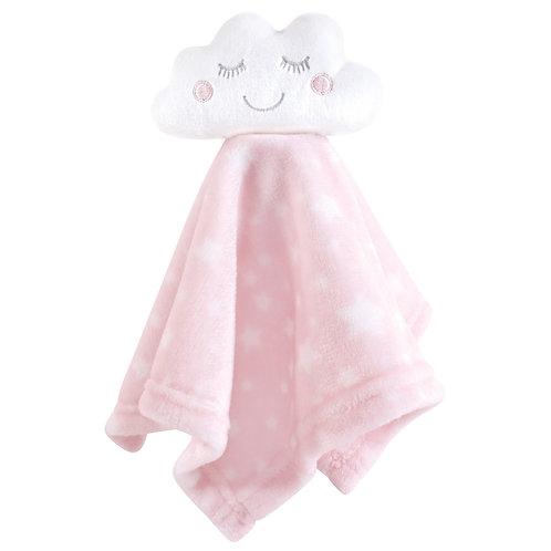 Hudson Baby Pink Cloud Security Blanket