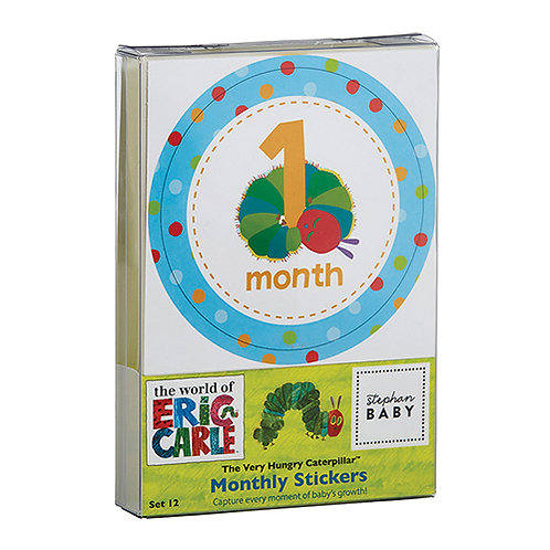The Very Hungry Caterpillar Monthly Milestone Stickers