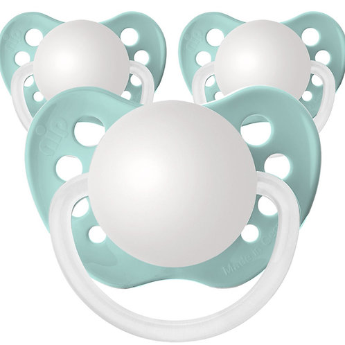 Baby Name Pacifiers - 3 Pk Seafoam Green, Ulubulu, Personalized Pacifiers