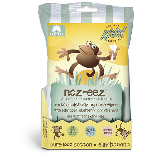 Noz-eez extra moisturizing nose wipes