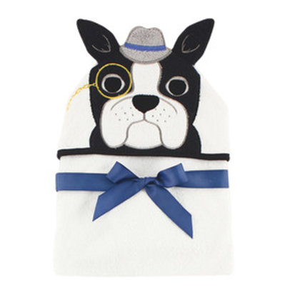 Hudson Baby Dapper Dog Animal Face Hooded Towel