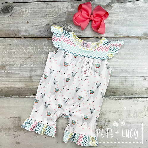 Mama Llama Romper by Pete + Lucy
