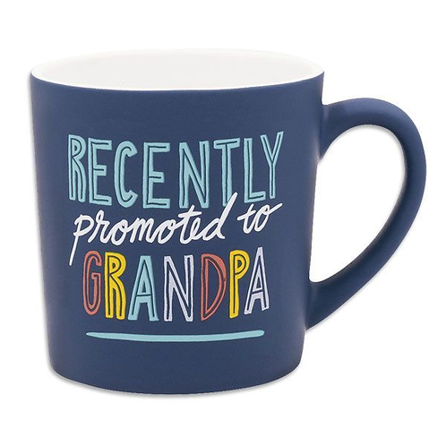 Recently Promoted to Grandpa Coffee Mug - Pregnancy Announcement Gift