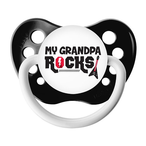 My Grandpa ROCKS Pacifier