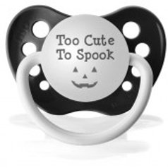 Too Cute to Spook Pacifier