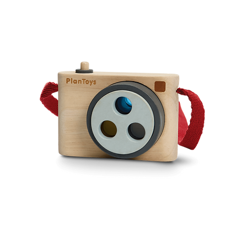Colored Snap Camera by Plan Toys