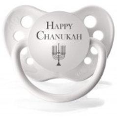 Happy Chanukah Pacifier
