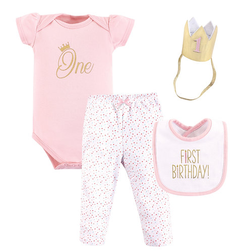 Hudson Baby First Birthday Outfit