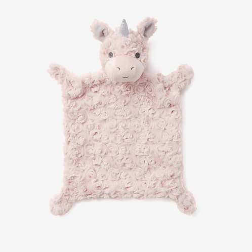 Unicorn Swirl Flatso Security Blankie by Elegant Baby