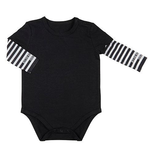 Stephan Baby Tattoo Sleeve Snapshirt for Baby - Jailbird