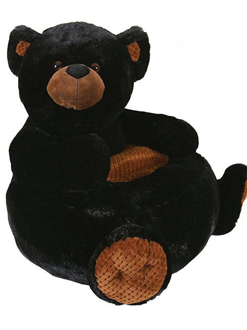 Black Bear Giant Plush Chair