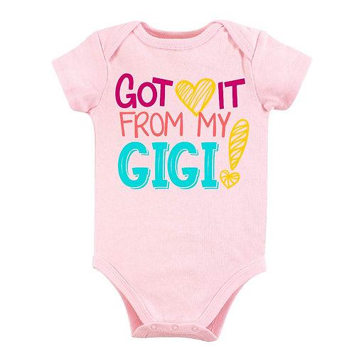 Got It From My GIGI bodysuit for baby