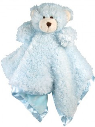 Stephan Baby Blue Bear CuddleBud Blanket