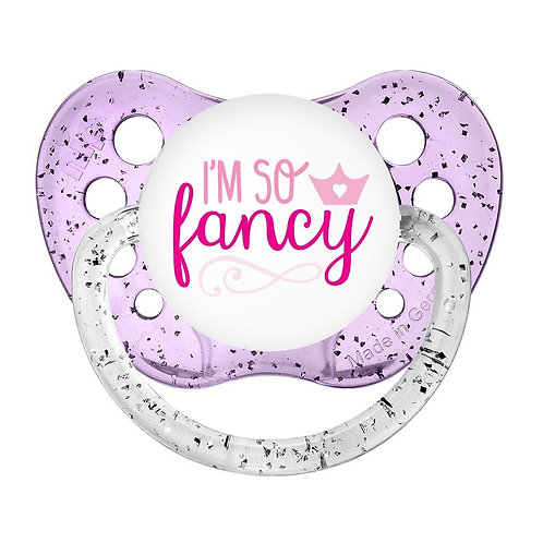 I'm SO fancy Pacifier