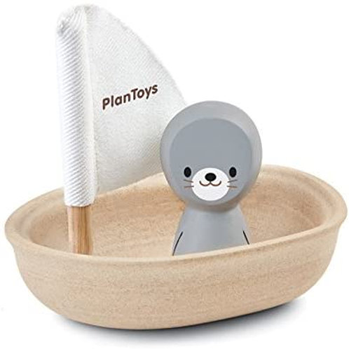 Plan Toys Sailboat with Seal