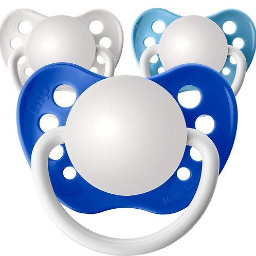 Baby Name Pacifiers - 3 Pk Boys Blue, Ulubulu, Personalized Pacifiers