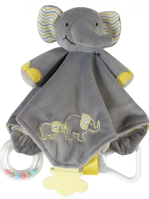 Stephan Baby Grey Elephant Chewbie Activity Toy