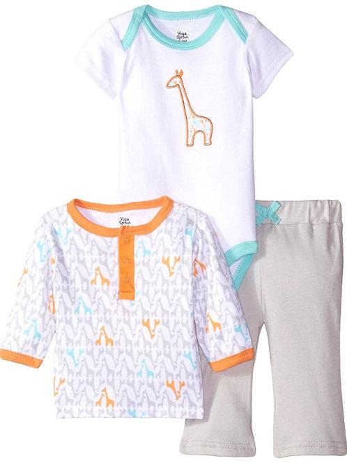 Giraffe 3 Piece Outfit