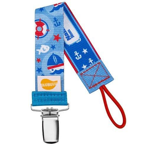 Nautical Pacifier Clip