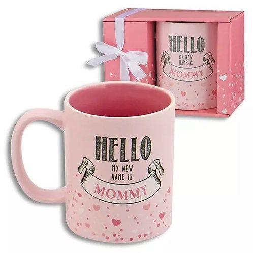 Hello My New Name is Mommy Coffee Mug - Gifts for Mom, Mom coffee mug