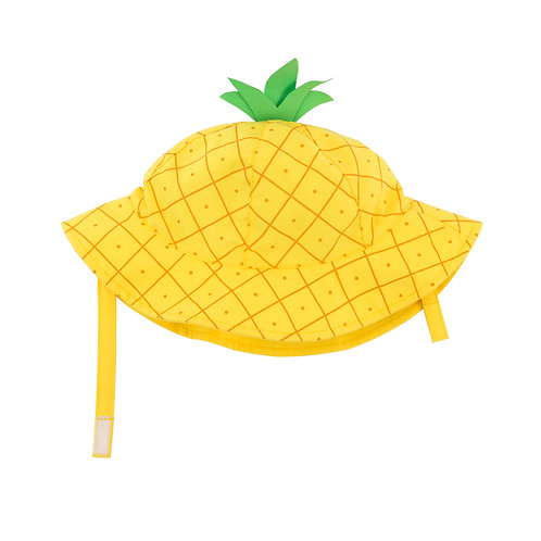 Pineapple sun hat for baby