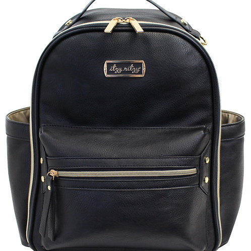 Itzy Mini Diaper Bag, Black