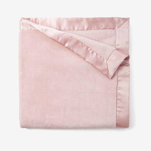 Pink Coral Fleece Baby Stroller Blanket by Elegant Baby