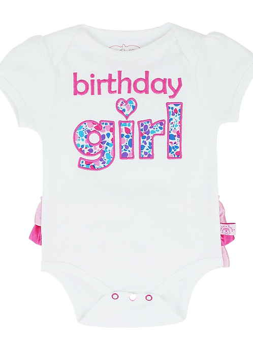 Birthday Girl Bodysuit, Rufflebutts