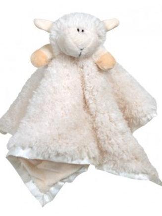 Stephan Baby Cream Lambie CuddleBud Blanket